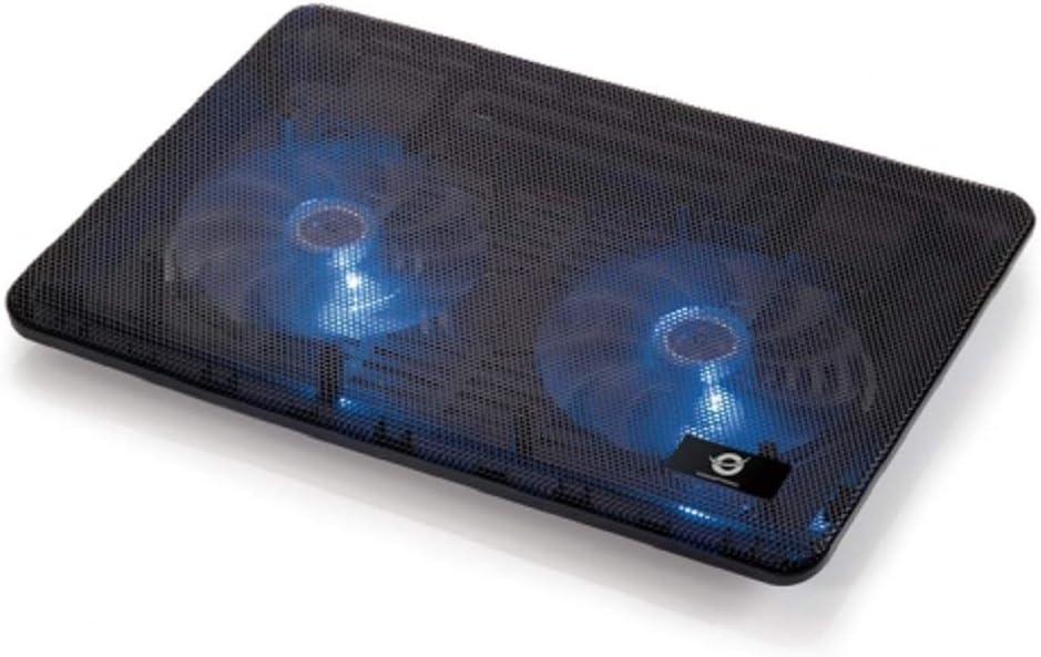 Conceptronic CNBCOOLPAD2F - Base de refrigeración para portátil ...