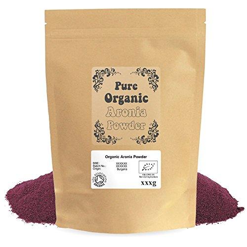 Mogro Certified Organic Aronia Powder (500g) by Mogro