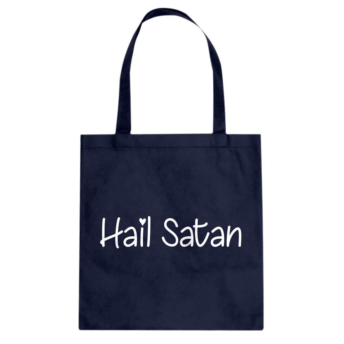 Indica Plateau Hail Satan Cotton Canvas Tote Bag