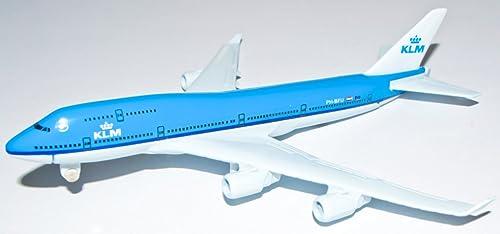 Boeing 747 KLM Metal Plane Model 16cm