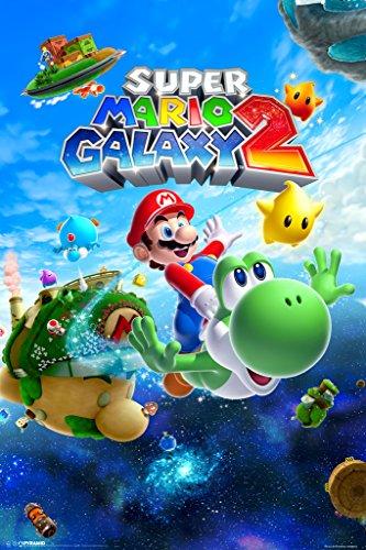 Pyramid America Super Mario Galaxy 2 Video Game Poster 12x18 inch