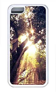 iPhone 5c case, Cute Tree 41 iPhone 5c Cover, iPhone 5c Cases, Soft Whtie iPhone 5c Covers by runtopwell