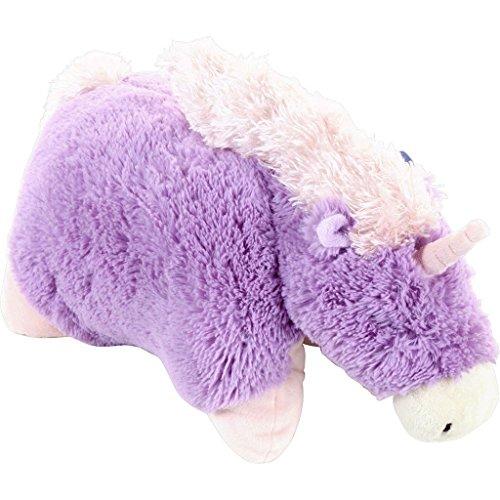 Purple Lavender Pink Horn Unicorn Pillow Pets Pee Wees