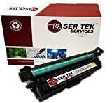 Laser Tek Services Compatible Toner Cartridge Replacement for the HP CE272A. (Yellow, 1-Pack)