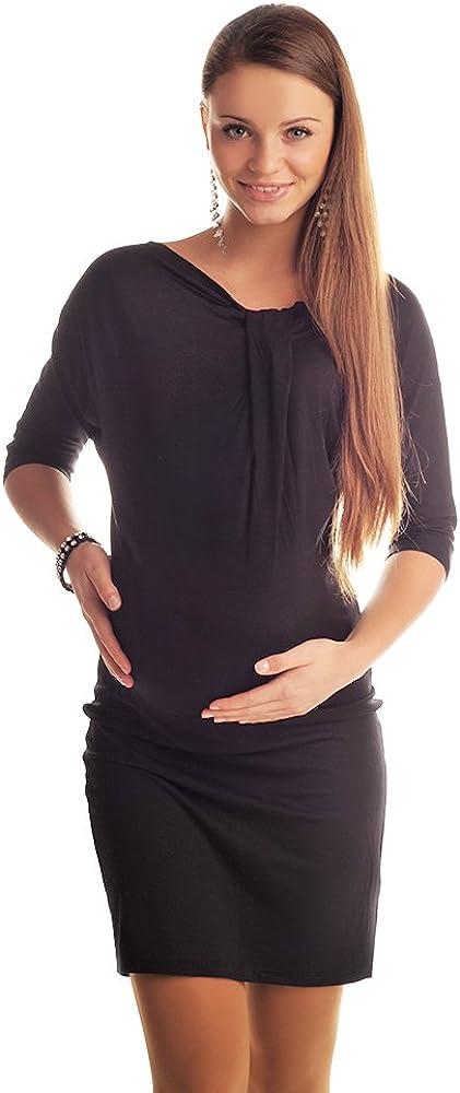 Purpless Umstandsmode Umstands-Kleid Kleider f/ür Schwangere Damen 6407