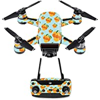Skin for DJI Spark Mini Drone Combo - Orange You Glad  MightySkins Protective, Durable, and Unique Vinyl Decal wrap cover   Easy To Apply, Remove, and Change Styles   Made in the USA