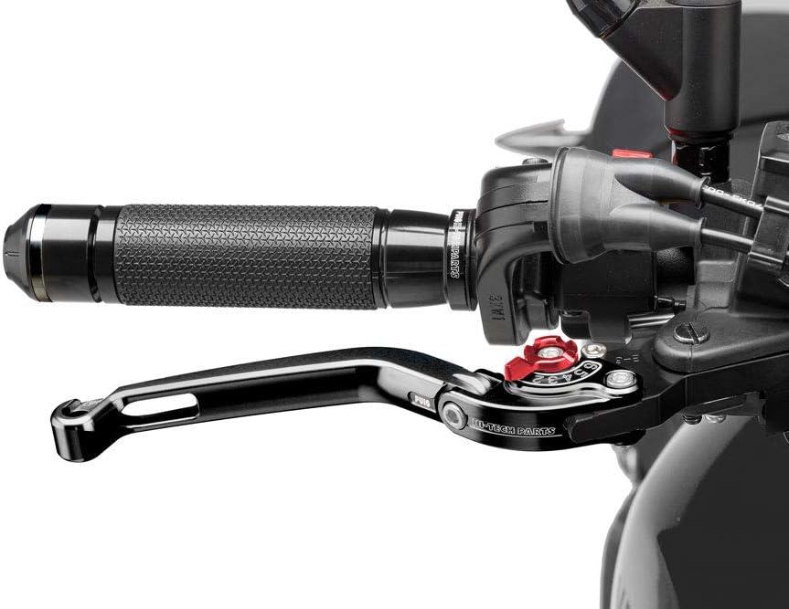 2015 RK Puig 5442R1223 Brems-Kupplungshebel R kompatibel fuer APR RSV4 RR knick schw Set