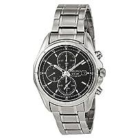 Seiko Men's SSC001 Alarm Chronograph Watch from Seiko
