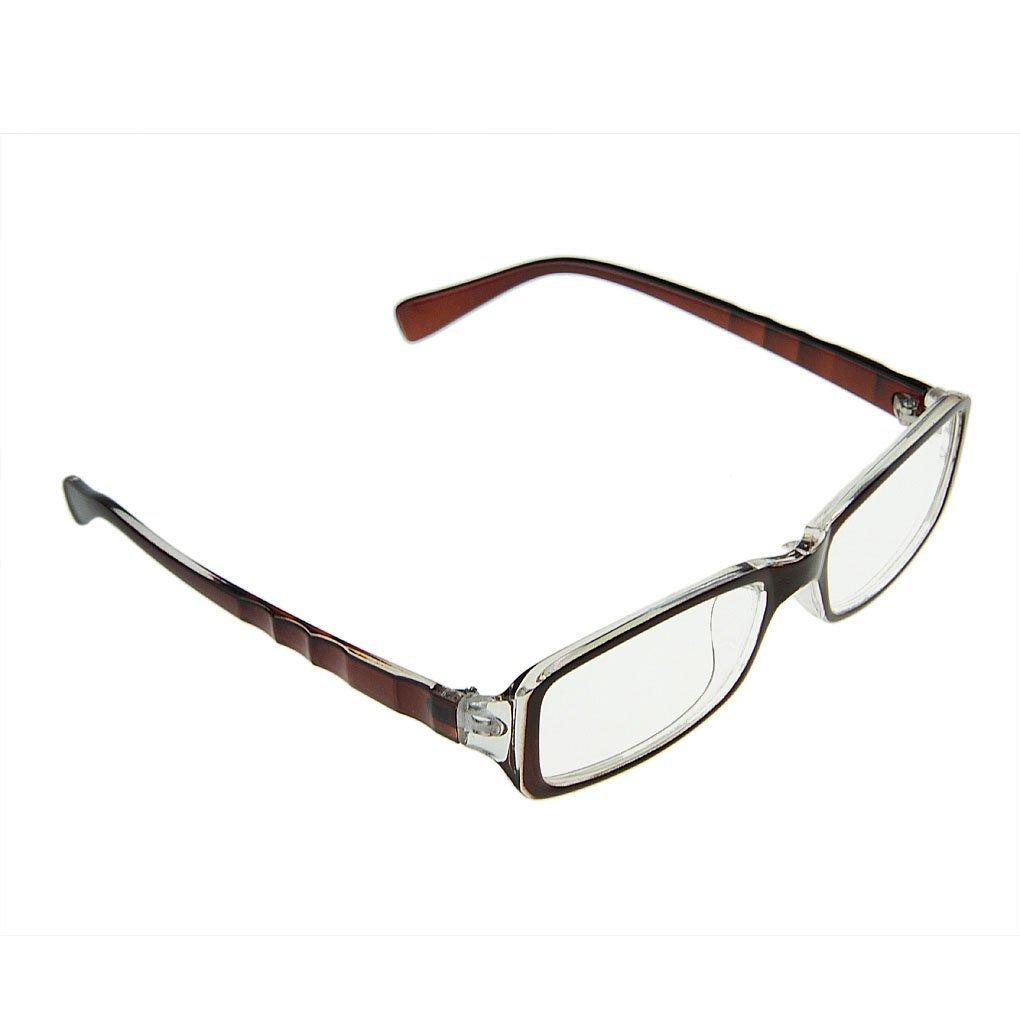 Klassische Nerd Brille oder als Sonnenbrille Wayfarer Brille ...