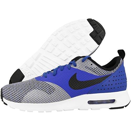 Nike Schuhe Air Max Tavas PRM Herren racer blue-black-wolf grey (898016-400), 48,5, blau