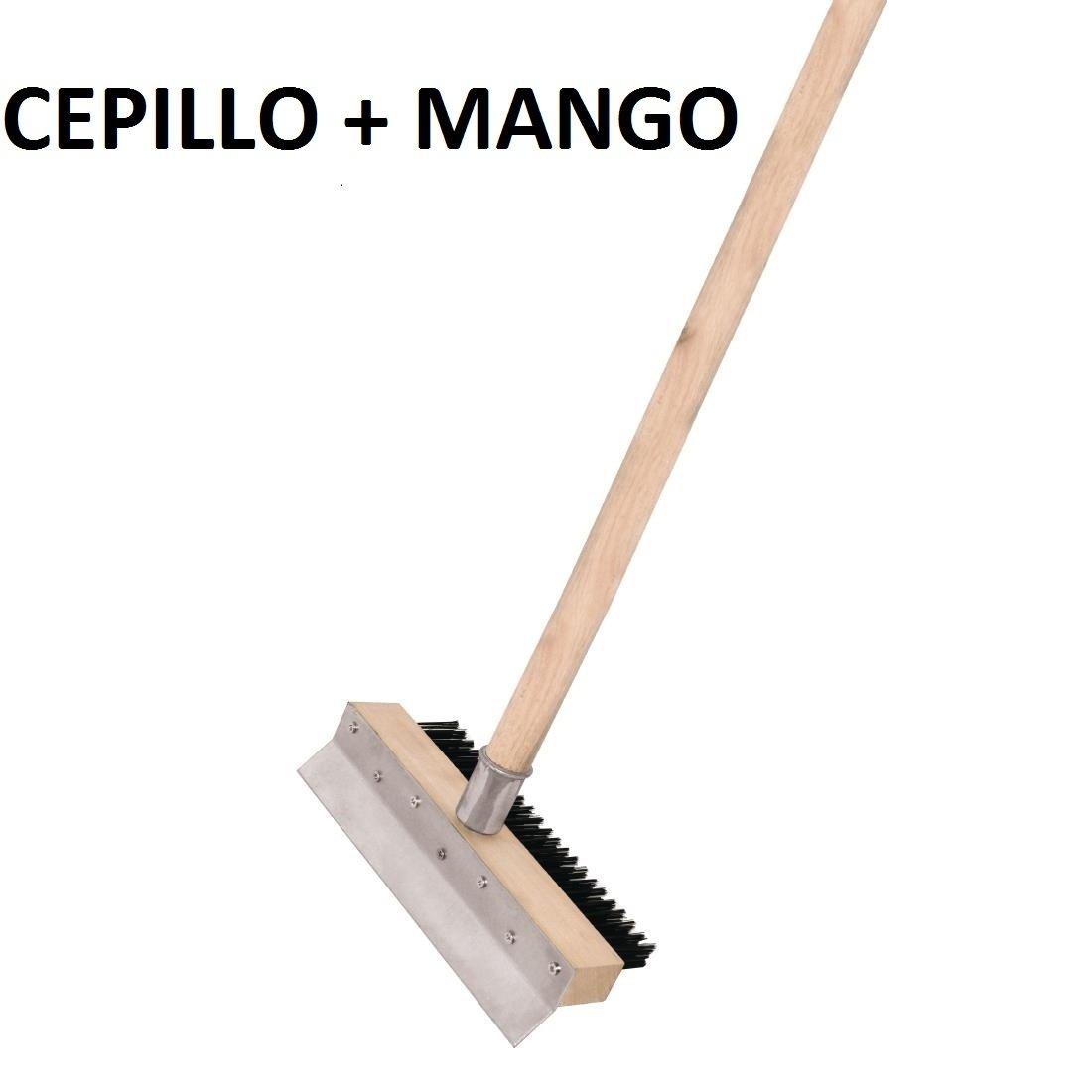 chiner - Cepillo Horno de Pizza y Mango para Cepillo (Cepillo + ...