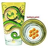 DBZ Dragon Ball Z Bottom Print Pint Glass, Shearon Anime