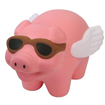 Amazon.com: Flying Pig Stress Toy: Toys & Games
