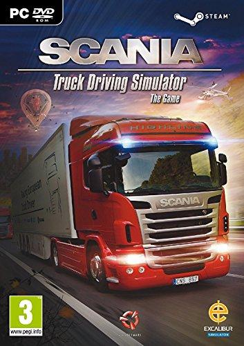Scania Truck Driving Simulator (PC DVD/Steam) (UK IMPORT)