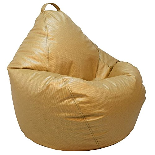 Ace Casual 1086201 Casual Basketweave Bean Bag Chair, Gold ACE Casual Furniture