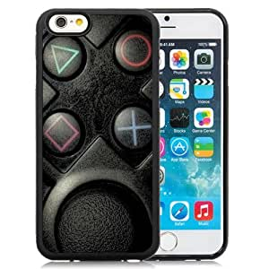 New Beautiful Custom Designed Cover Case For iPhone 6 4.7 Inch TPU With Playstation Buttons Phone Case