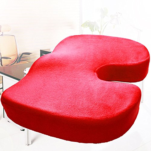 Memory Foam Coccyx Orthoped Car Seat Office Cushion Lumba...