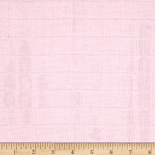 Shannon Fabrics Shannon Embrace Double Gauze Solid Baby Pink Fabric By The Yard