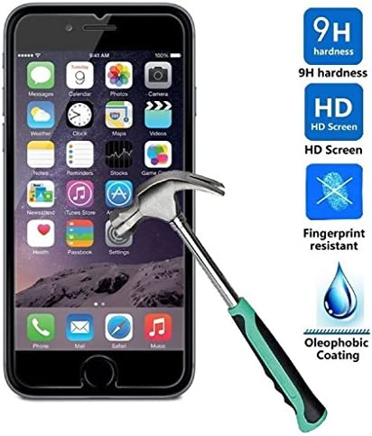 myTech® iPhone 7 Schutzglas 3D Touch Hartglas Panzerglas Folie Echtglas Glas 100% Displayschutz Schutzfolie Panzerfolie Displayschutzfolie Premium 0,3mm Tempered Glass Screen Protector (für iPhone 7 4.7 Zoll)