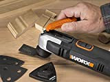 Worx WX686L.1 2.5A Oscillating Tool with Clip-in