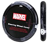 marvel automotive accessories - Plasticolor 006753R01 Marvel Punisher 'Speed Grip' Steering Wheel Cover