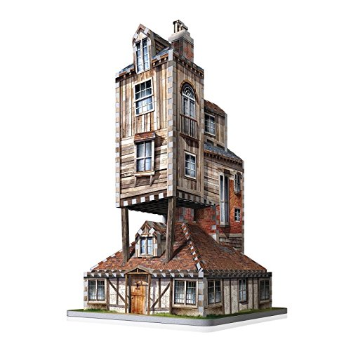 WREBBIT 3D The Burrow-Weasley Family Home 3D Jigsaw Puzzles (415Piece) (415 Piece)