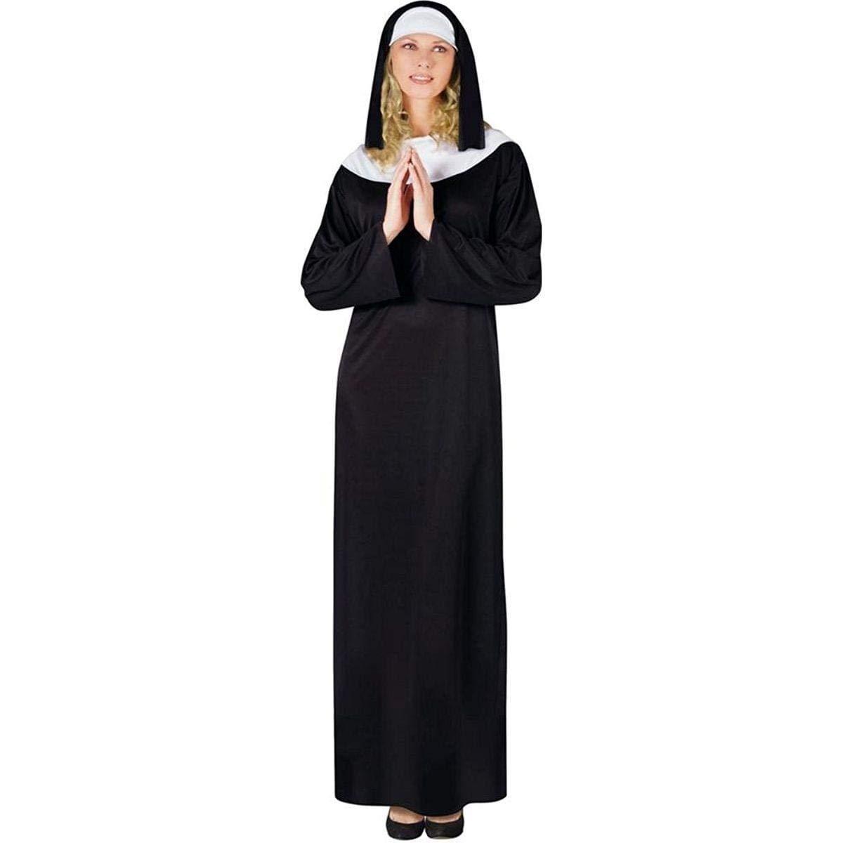 Fun World Costumes Classic Nun Costume Adult (disfraz)