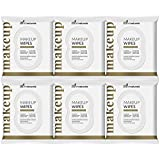 ArtNaturals Makeup Remover Cleansing Wipes-Towelettes – 6 Piece Set – Facial Wipes Remove All Makeup Including Waterproof Mascara – for Sensitive Face and Skin with Cotton Extract– 30 Count