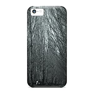 For Iphone 5c Fashion Design Haunted Forest Case-SBn2123mWtw