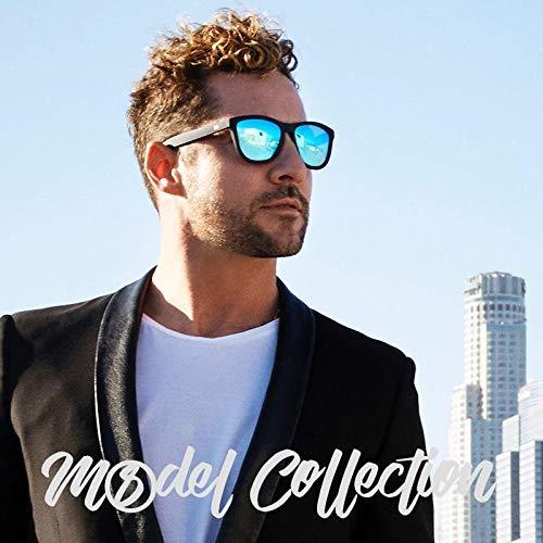 CLANDESTINE Model Blue by David Bisbal - Gafas de Sol Polarizadas Hombre    Mujer  Amazon.es  Ropa y accesorios aff74fec121f