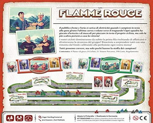 Playagame Edizioni- Flamme Rouge, Multicolore, FLRG