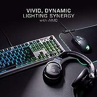 Silver Aluminum Top Plate Aimo LED Per-Key Lighting ROCCAT Vulcan 100 Titan Switches Durable Design Multimedia Wheel Mechanical RGB Gaming Keyboard