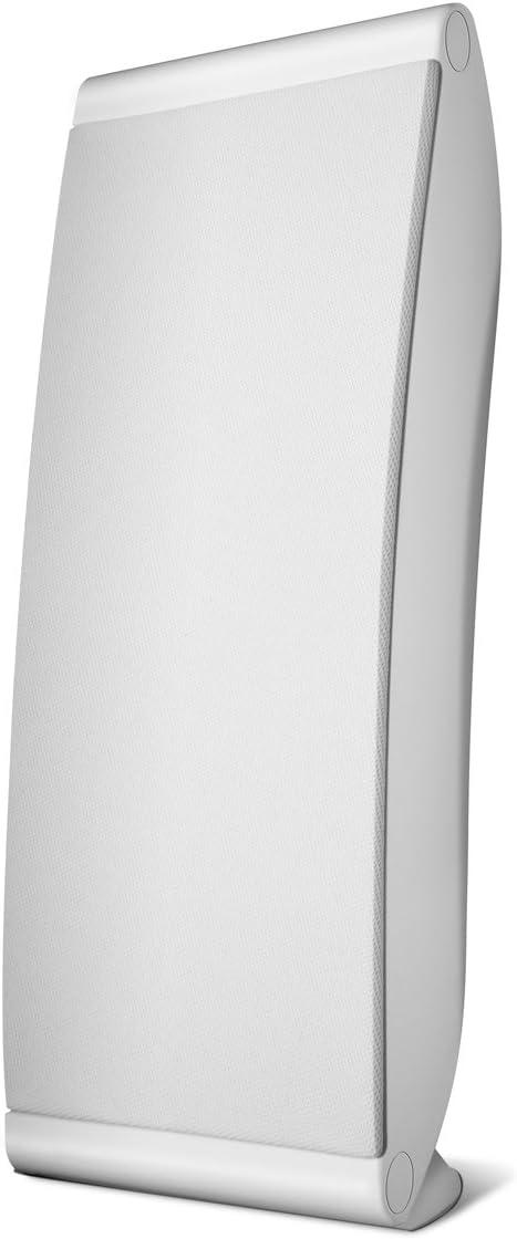 Polk Audio OWM5 Wall and Bookshelf Speaker The Most High-Performance Versatile Loudspeaker Paintable Grilles Single, White
