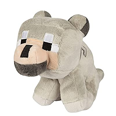 Minecraft Baby Wolf Plush Stuffed Toy
