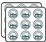 Tokyo Japan Grunge Rubber Travel Stamp Art Decor