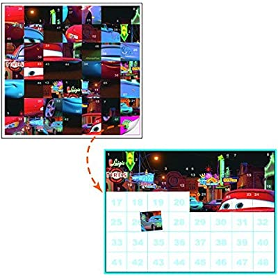 Lee Publications Disney Pixar Cars Sticker Puzzles - Set 2: Toys & Games