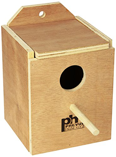 Prevue Pet Products BPV1101 Wood Inside Mount Nest Box for Birds, Finch (Nest Prevue)