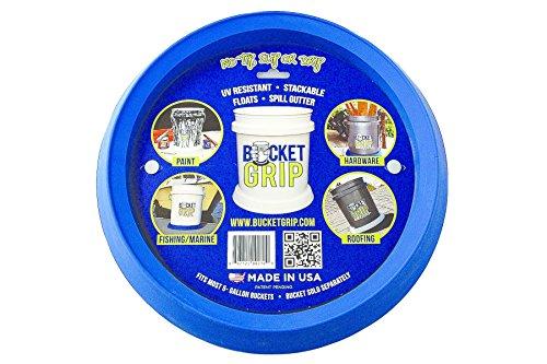 Bucket Grip Blue 5 Gallon Bucket Holder