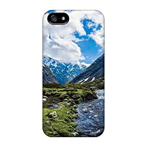 Bernardrmop Fashion Protective Nature Mountains Mountain River Case Cover For Iphone 5/5s
