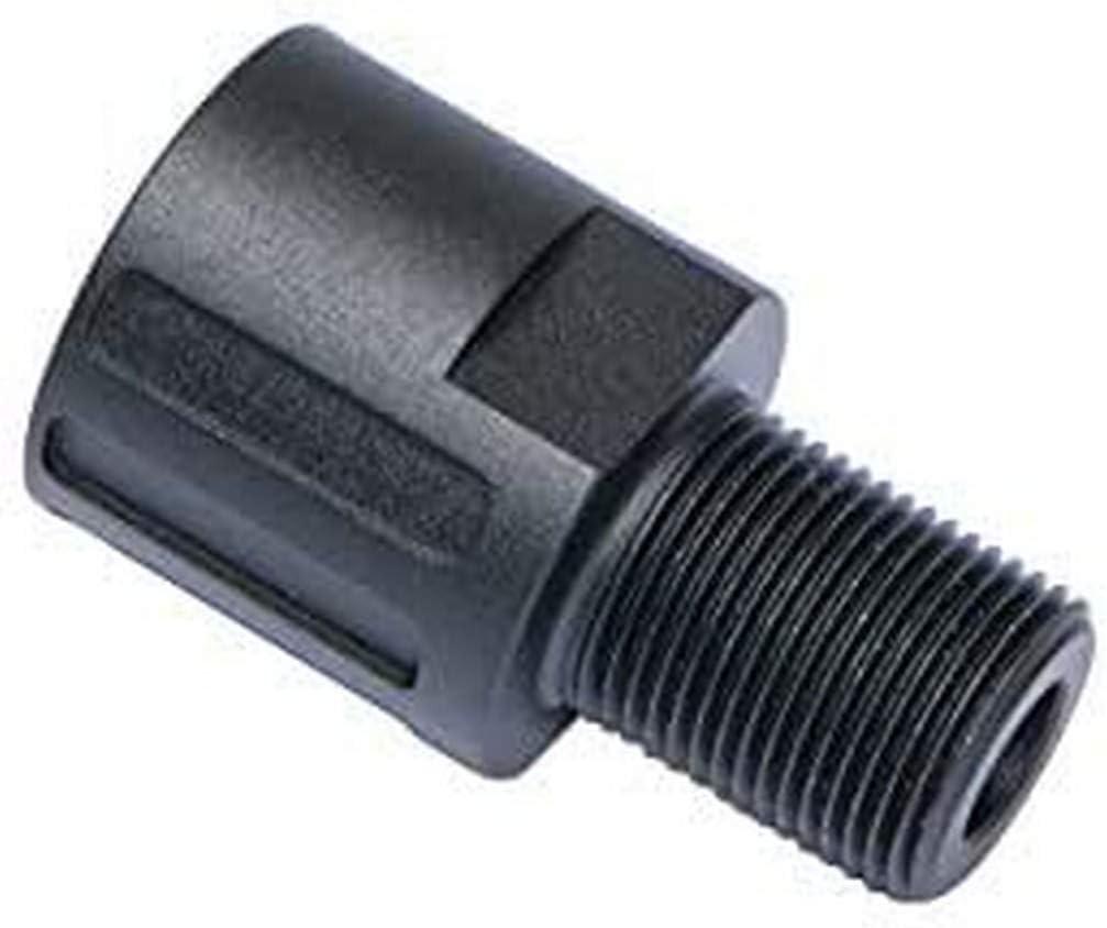 Asg EVO 3 A1 18/14 Mm CCW Adaptador Silencioso, Unisex Adulto, Negro, Talla Única