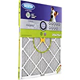 BestAir PF2025-1 Furnace Filter, 20 x 25 x 1, Carbon Infused Pet Filter, MERV 11