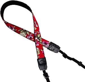 FlipOrange Camera Shoulder Neck Strap Belt for DSLR - Floral