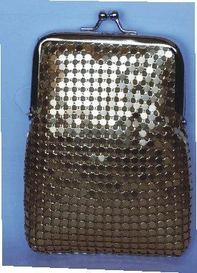 Gold Luxury Mesh Cigarette Case