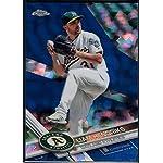 1df27295a Baseball MLB 2017 Topps Chrome Sapphire Edition  262 Liam Hendriks  250  Athletics.