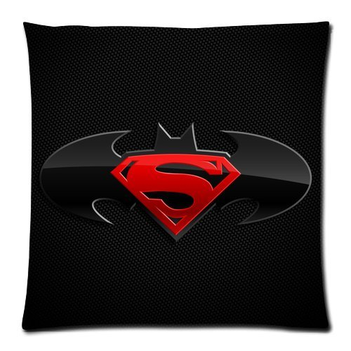 [Every New Day Marvel Comics Superhero Series Batman Vs Superman Logo Unique Custom Zippered Pillow Cases 18x18 inches(45x45cm) (Two] (Pug Batman Costume)