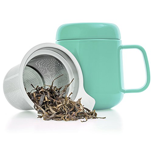Mesh Tea Infuser Stainless Steel Filter Extra Fine Mesh Fits Standard Cups Mugs Teapots For Brewing Steeping Loose Tea Promoting Health And Curing Diseases Home Appliance Parts Vacuum Cleaner Parts