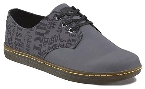 Dr. Martens - Zapatillas de Lona para Hombre Gris Gris: Amazon.es: Zapatos y complementos