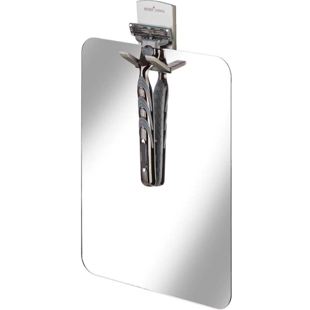 Better Living Products 13545 VISO Frameless Shower Mirror by Better Living