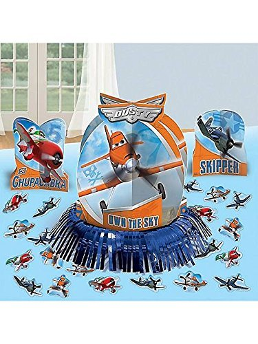Amscan DisneyPlanes 2 Birthday Party Assorted Table Decorating Kit (23 Pack), 12 3/5