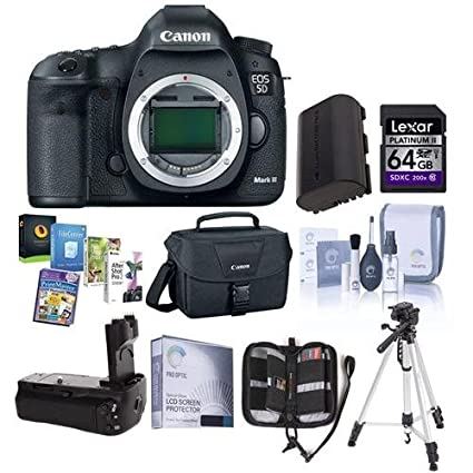 Canon EOS-5D Mark III cámara réflex digital Bundle. Estados Unidos ...